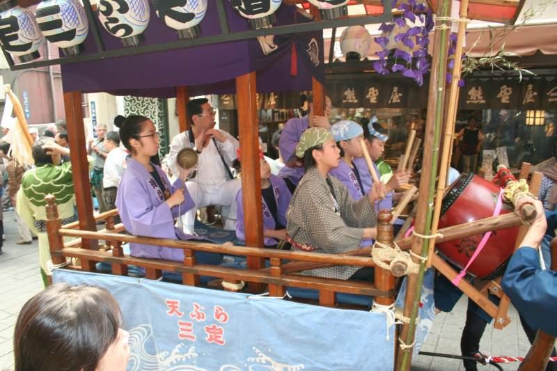 Asakusa Sanja Matsuri parade