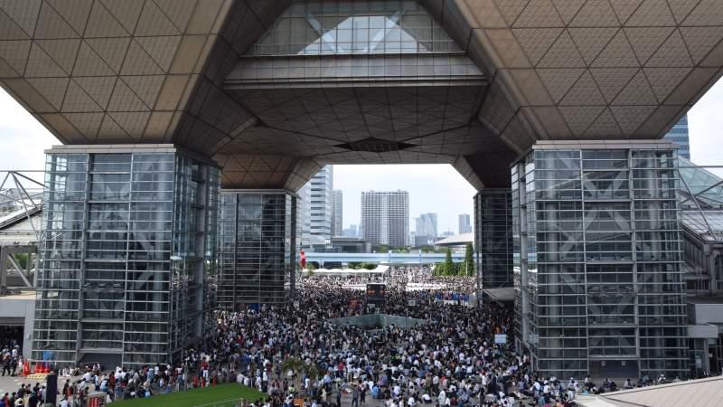 Anime ComicMarket at Tokyo Big Sight