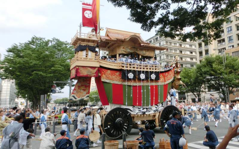 Gion Festival Parade Traditional Float