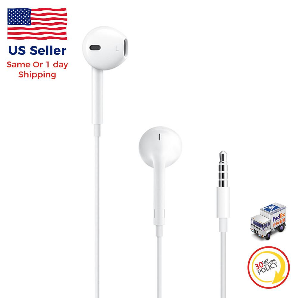 1X OEM Apple Earphones Earpods Headphones/w Mic for iPhone 7 7+ 8 8+ X XS max XR