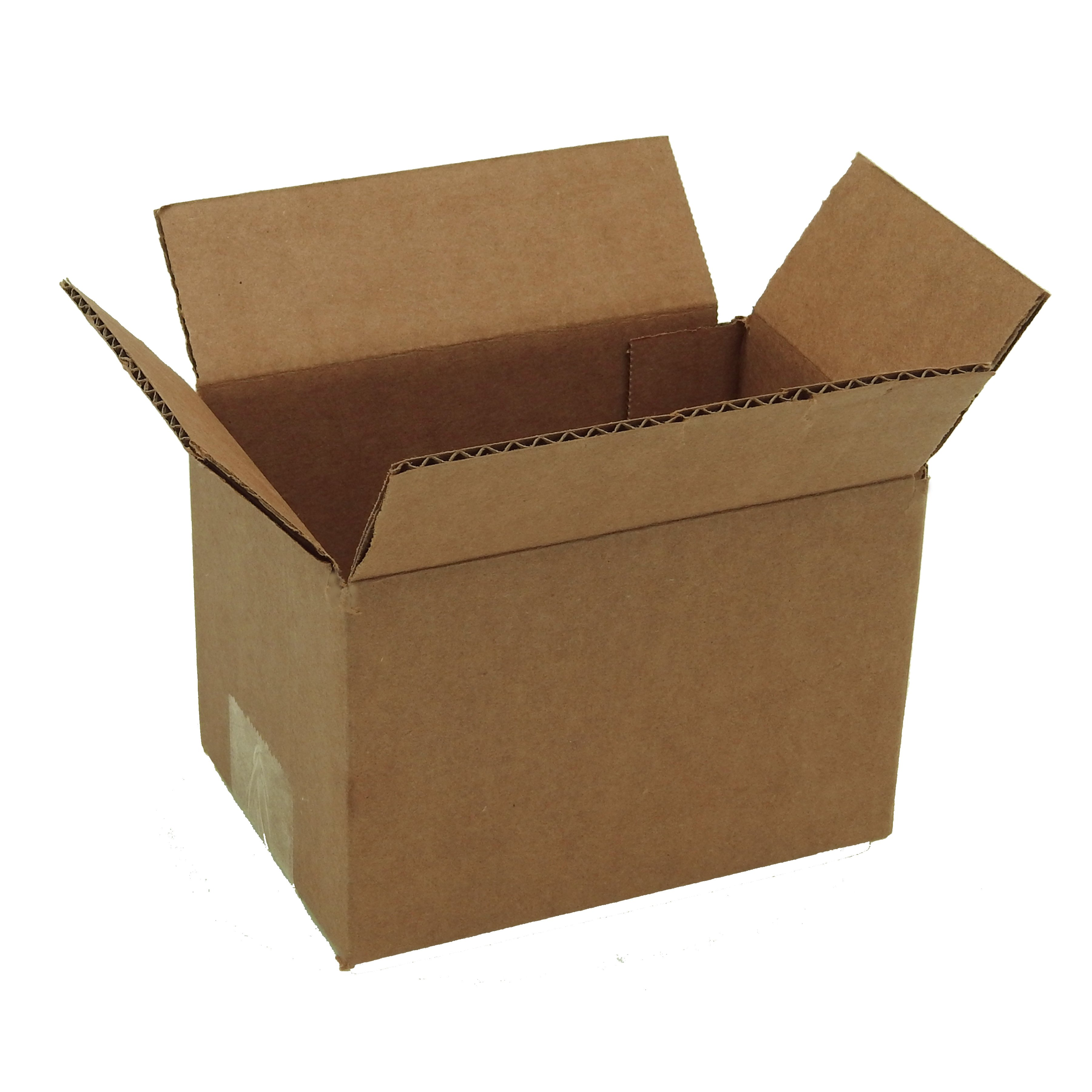 100 6x4x4 Corrugated Cardboard Shipping Mailing Packing Moving Boxes Box Carton