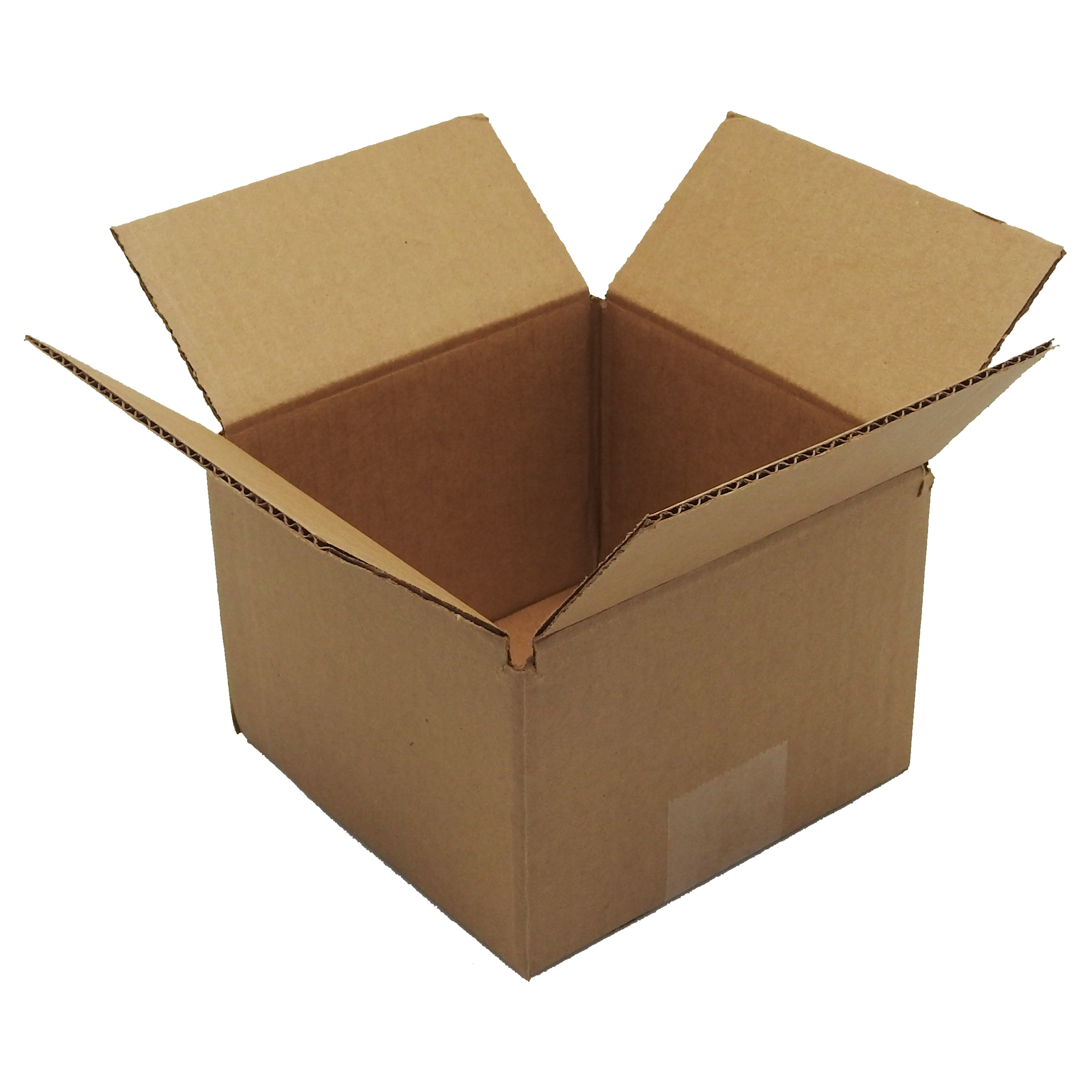100 6x6x4 Corrugated Cardboard Shipping Mailing Packing Moving Boxes /Box Carton
