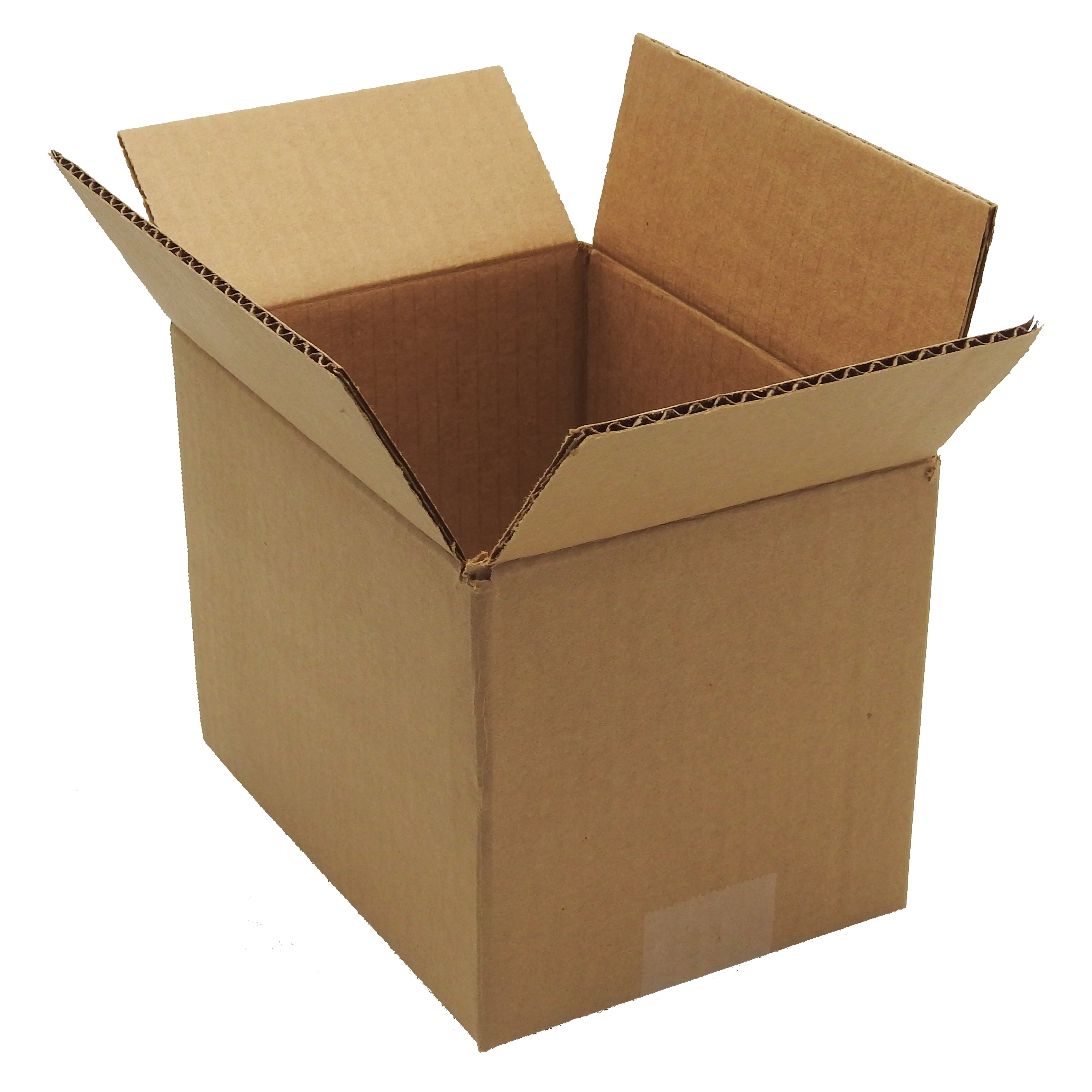 100 6x6x6 Corrugated Cardboard Shipping Mailing Packing Moving Boxes Box Carton
