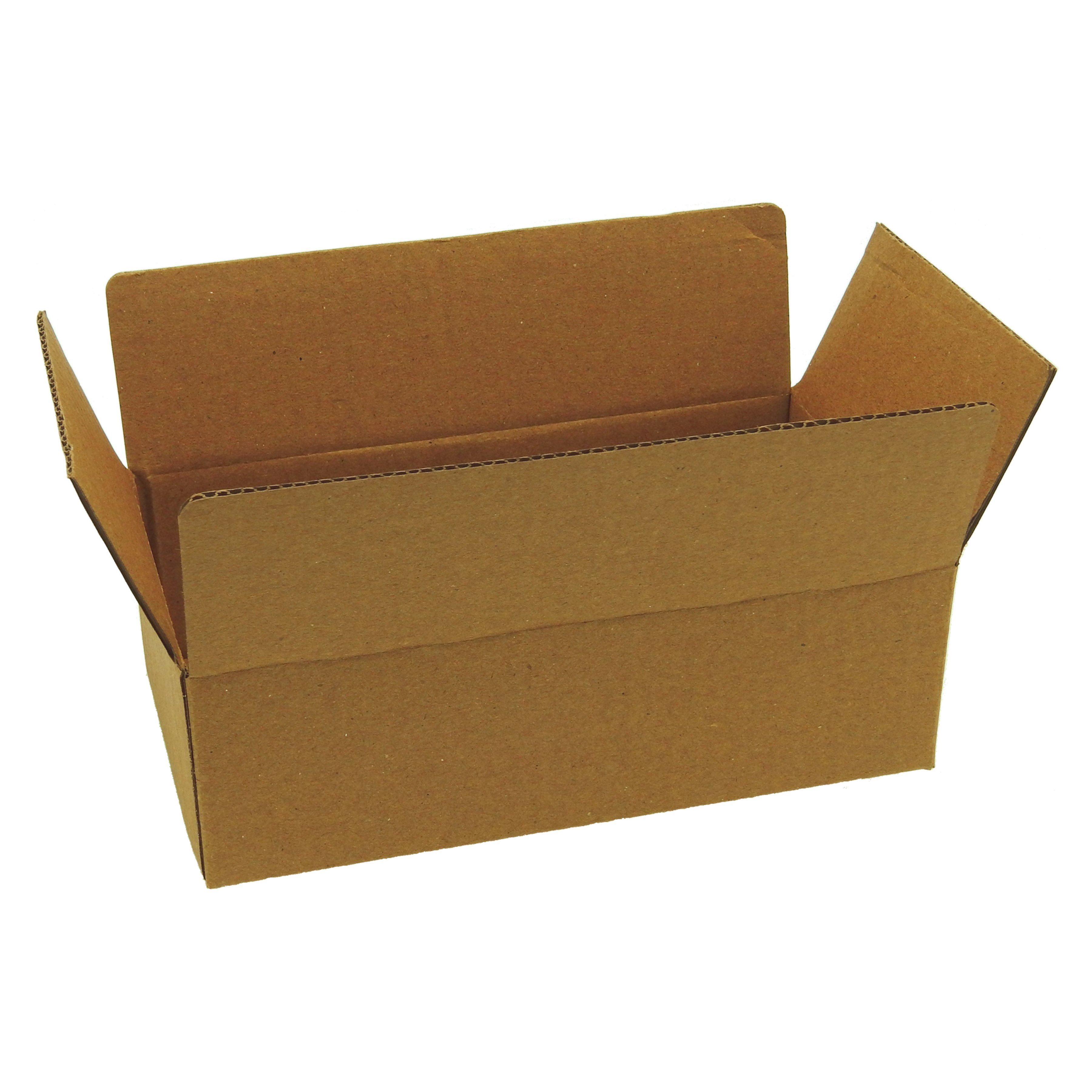 100 8x4.5x2.5 Corrugated Cardboard Shipping Mailing Packing Moving Boxes Box Carton