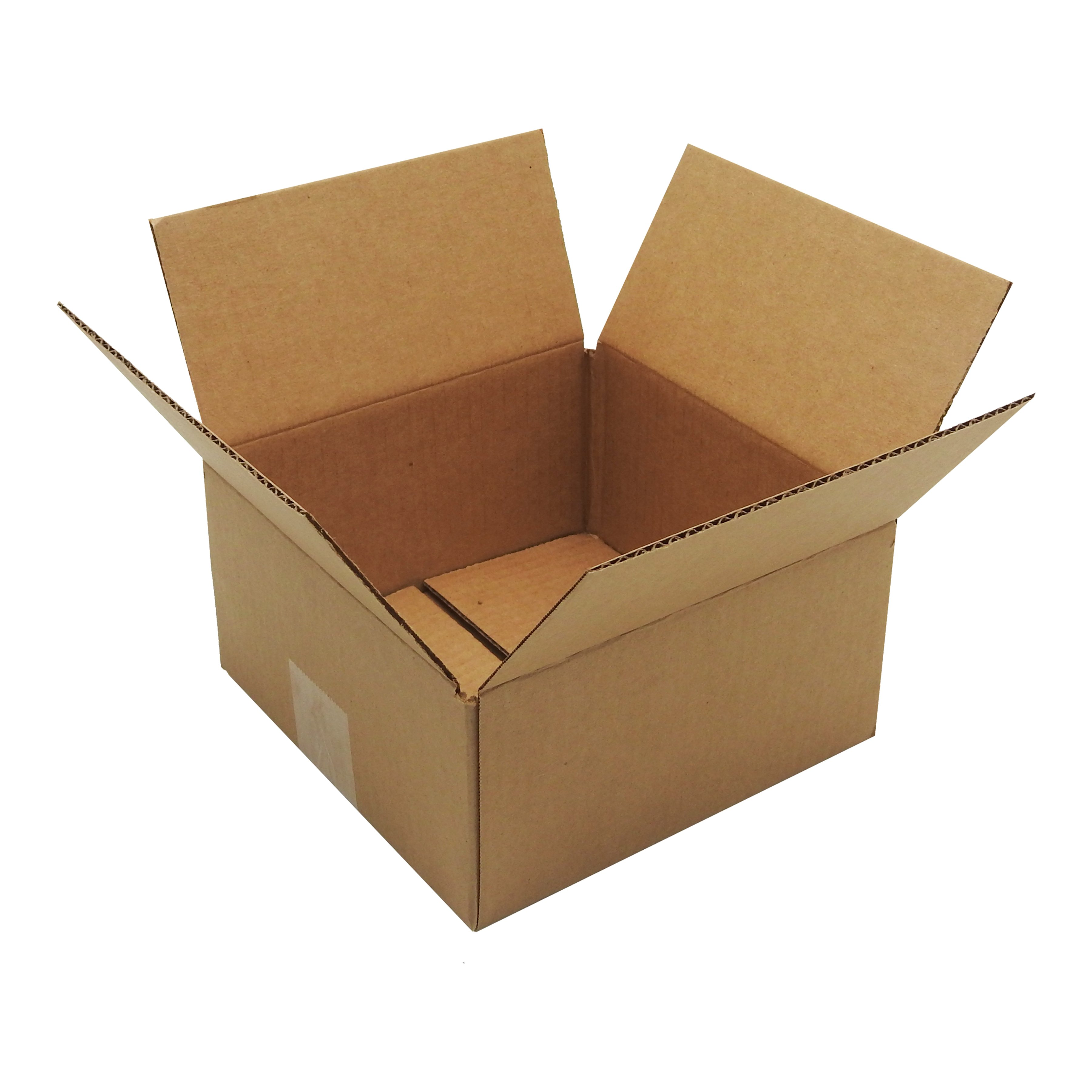 100 8x8x4 Corrugated Cardboard Shipping Mailing Packing Moving Boxes Box Carton