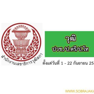 สำนักงานเลขาธิการวุฒิสภา รับสมัครสอบงานราชการ จำนวน 55 อัตรา