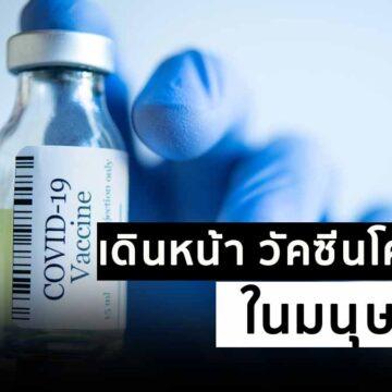 ไทยเดินหน้า วัคซีนโควิด-19 ในมนุษย์ หลังสร้างภูมิคุ้มกันได้ดีมากในลิง
