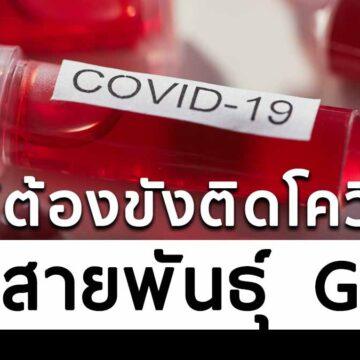 ผู้ต้องขังป่วยโควิด ติดเชื้อคนละสายพันธุ์กับที่ระบาดในไทยรอบแรก