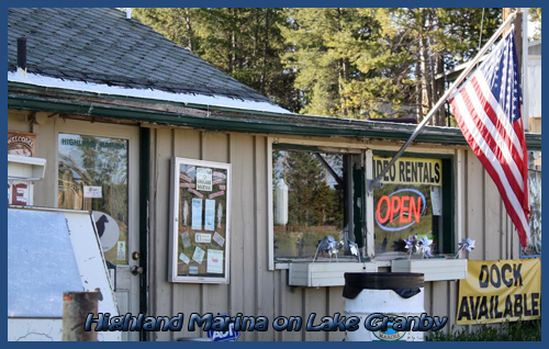 Lake Granby Marina Bait and Tackle Store