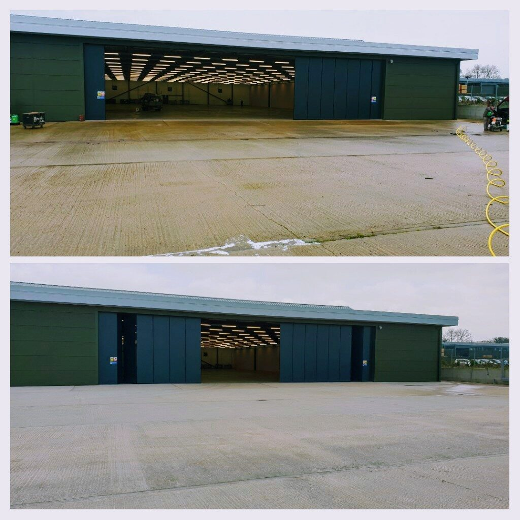 all trade commercial pressure washing