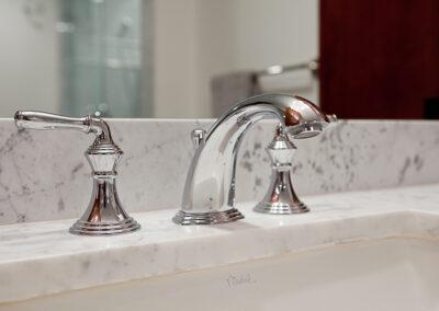 Sirhal master bath faucet detail