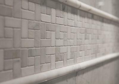 Sirhal master bath tile detail