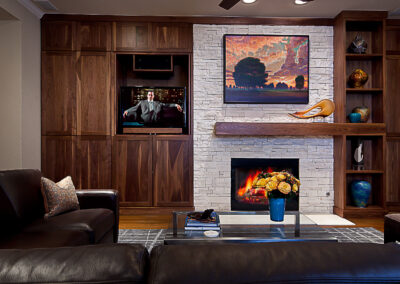 Zarling Fireplace Wall Remodel