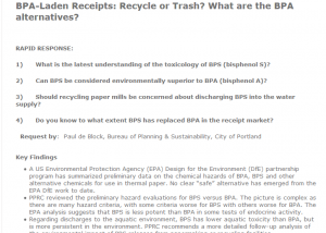 Capture_Rapid Response_BPA in Receipts