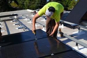 solar installation 029