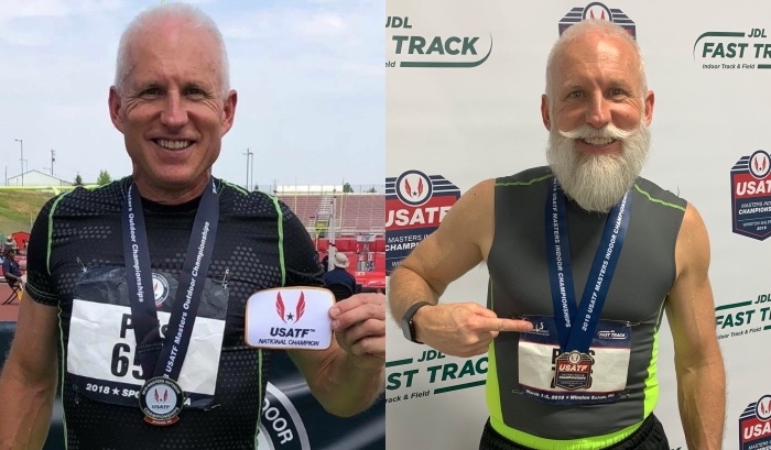 2018 USATF Masters Outdoor M55 400m Champion