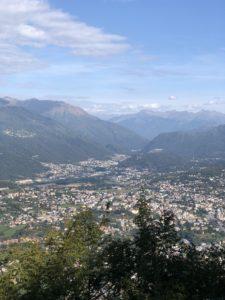 Monte San Salvatore view