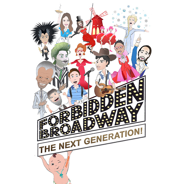 Forbidden Broadway Next Generation Logo