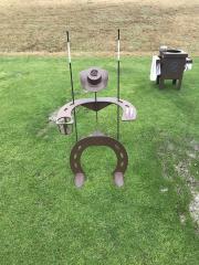 Cowboy Bag Stand -Cordillera Ranch Range