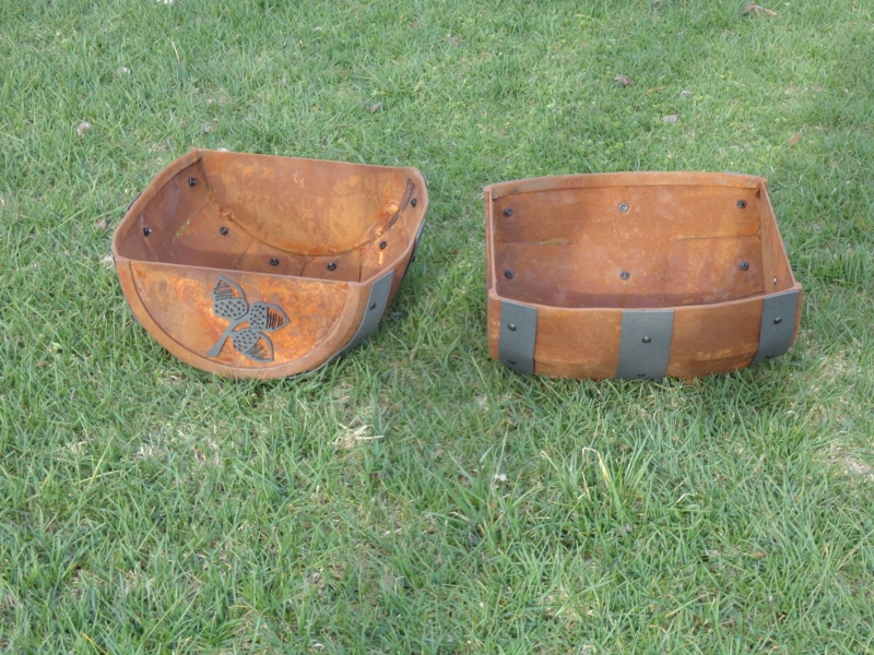 Half Barrel Ball Buckets