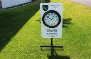 Driving Range Clock -Rolling Hills
