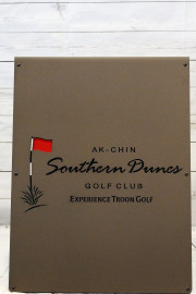 Driving Range Clock Sign -SOuthern Dunes 2