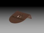 Tee Marker -Prong Horn Design