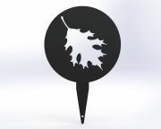 Leaf Tee Marker -Cantigny