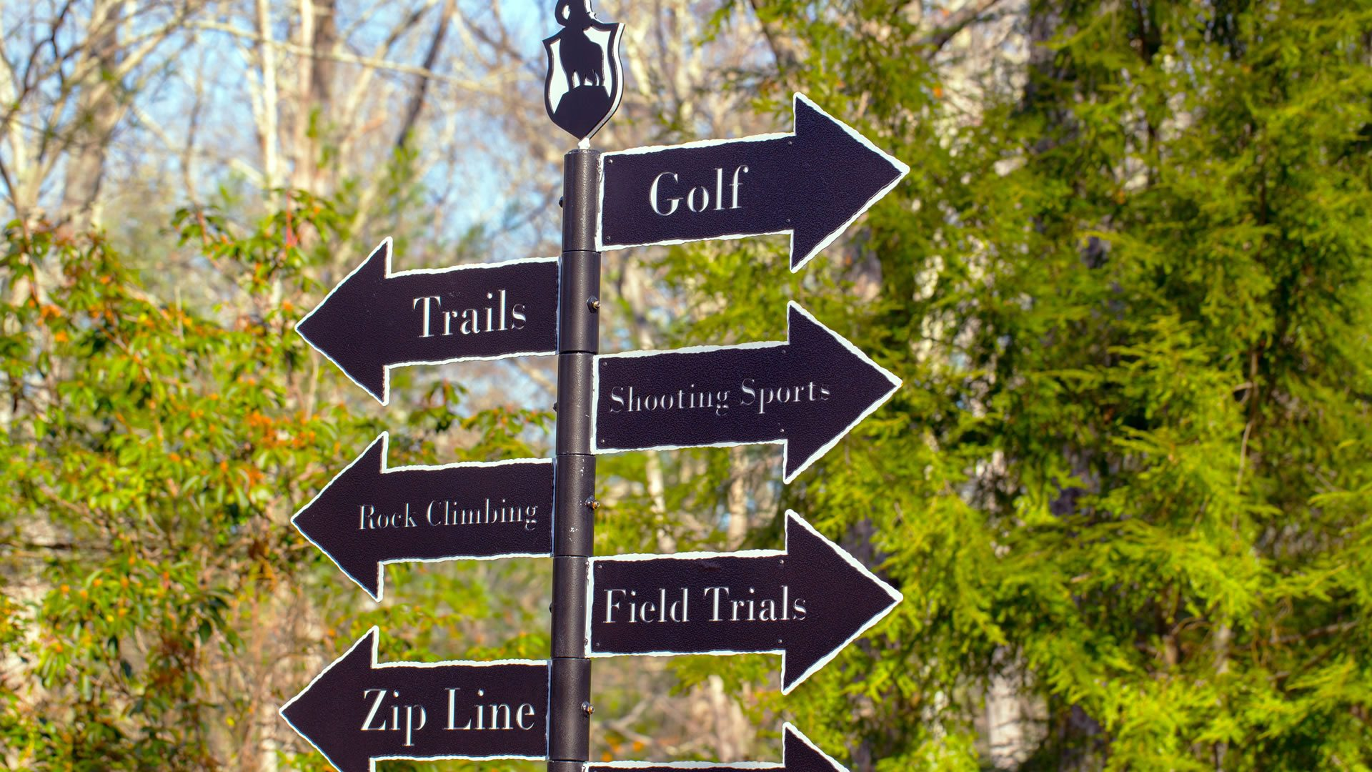 Directional Sign -The Preserve at Boulder Hills