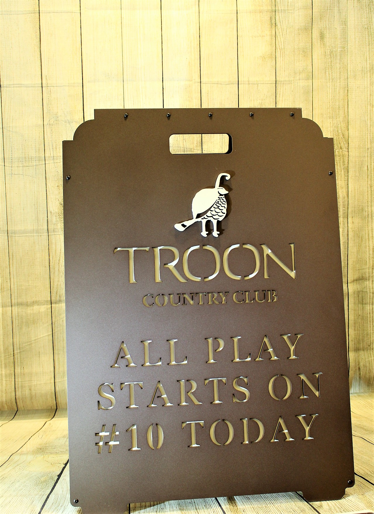 Directional Signs -Troon Country Club