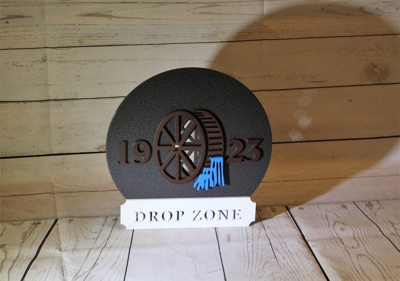 Drop Zone Sign -Greenbrook CC