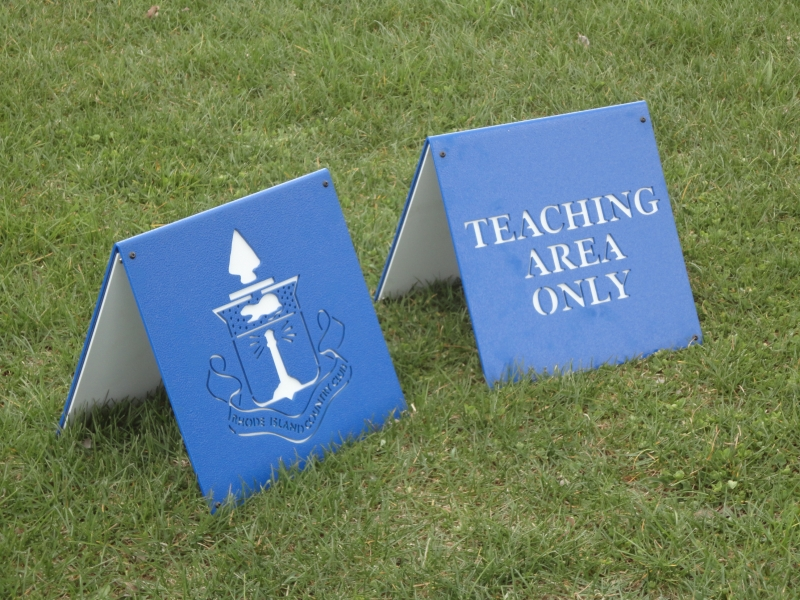Golf Teaching A-Frame Signs -Rhode Island