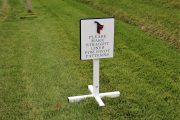 Golf Course Directional SIgns -Trinity Forest