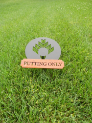 Golf Course Signage