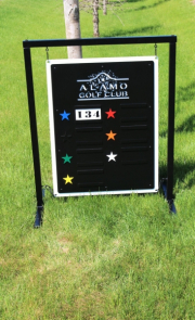 Driving Range Sign -Alamo GC