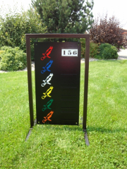 Golf Driving Range Sign -Gardiners Bay