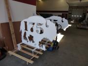 Driving Range Yardage Targets -Great White Buffalo