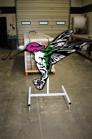 Hummingbird-Driving-Range-Target