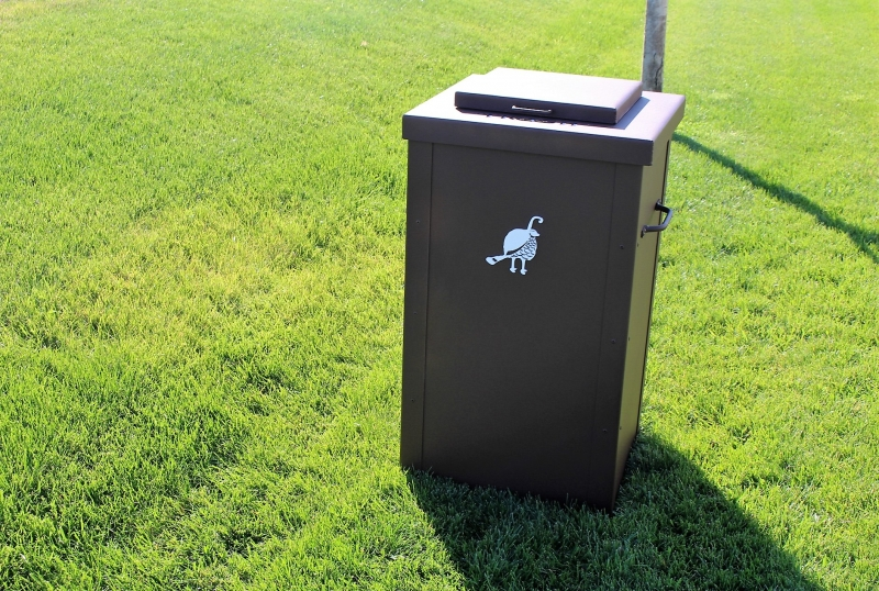 Garbage Can Enclosures TROON CC (2)