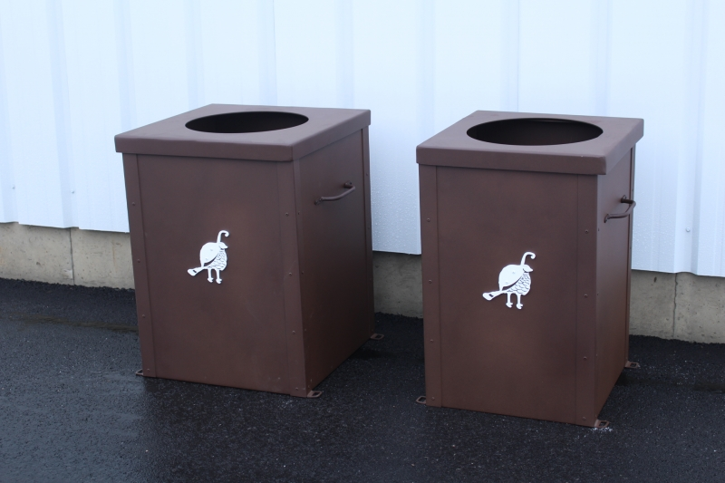 Garbage Can Enclosures -Troon CC