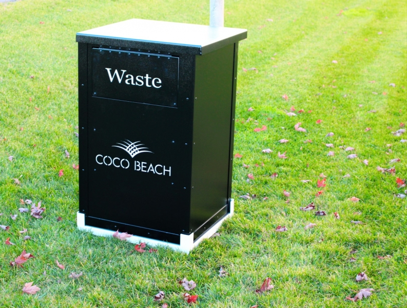 Garbage Enclosure -Coco Beach
