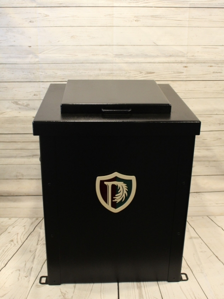 Trash Can Enclosure -Parkland