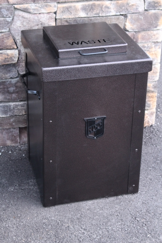 Trash Can Enclosures -HillCrest