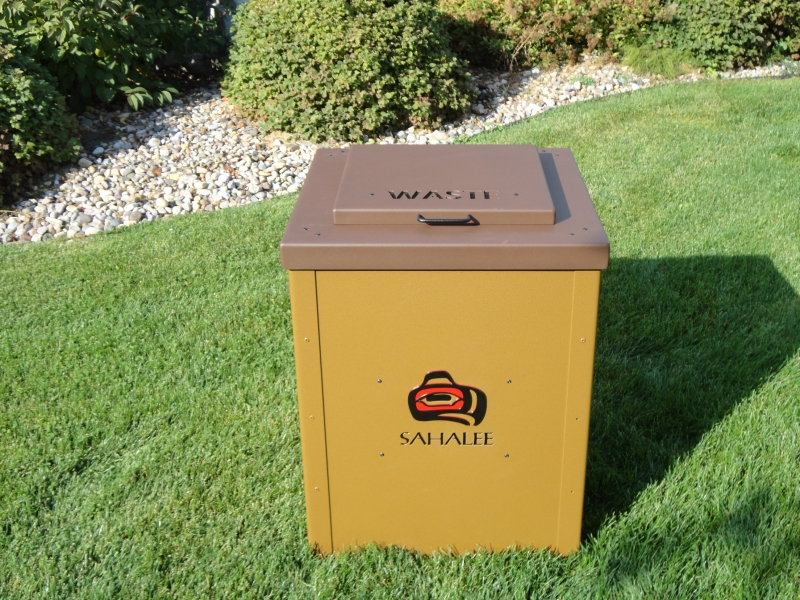 Tee Box Waste Bins-Sahalee