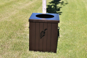 Garbage Can Enclosures TEAK -Ptarmigan