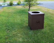 Garbage Can Enclosures -Victory Ranch