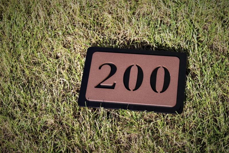 In Ground Yardage Markers Rhi Golf