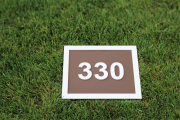 In-Ground Yardage Plates -Troon CC
