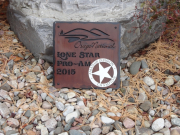 Custom Golf Wall Plaque -Osage National