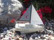 Sailboat Tournament Trophy- Newport Beach